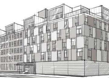"""אצ""""ל 41 נס ציונה (תמ""""א 38 חיזוק ותוספת – בנין בן 7 קומות. סה""""כ 46 דירות.)"""