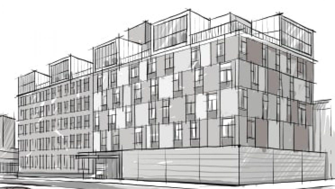 """נורדאו 34 ראשון לציון (תמ""""א 38 חיזוק ותוספת – בנין אחד. סה""""כ 32 דירות.)"""